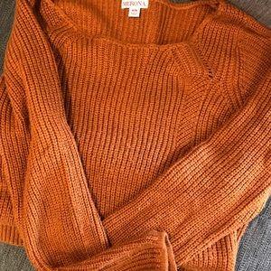 Orange Sweater Tunic